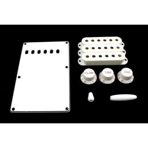 Accessoirekit voor Stratocaster wit