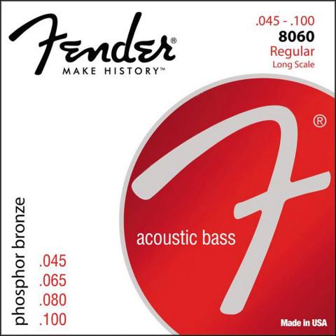 Fender Phosphor Bronze Acoustic Bass Wound akoestische bassnarenset 34 inch long scale .045-.055-.075-.095