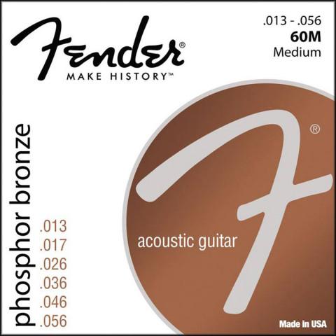 Fender Phosphor Bronze akoestische snarenset medium .013-.017-.026-.036-.046-.056