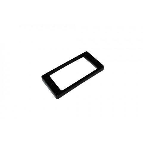 Humbucker pickupring recht Epiphone zwart
