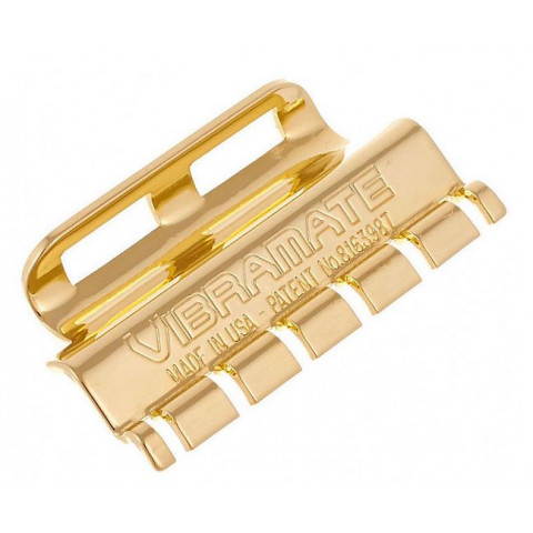Vibramate Gouden String Retainer voor Bigsby Vibrato's